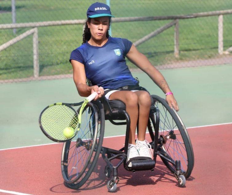 Maria Fernanda - Mundial de Tênis em cadeira de rodas
