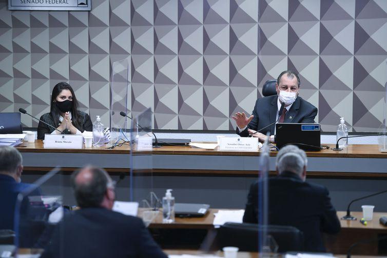 Comissão Parlamentar de Inquérito da Pandemia (CPIPANDEMIA) realiza oitiva da advogada representante dos médicos que trabalharam na Prevent Senior e elaboraram um dossiê entregue à comissão com diversas denúncias sobre o tratamento da empresa