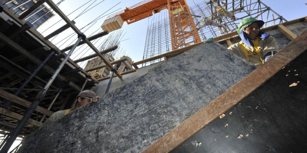 CNI: confiança da indústria de construção tem queda em setembro
