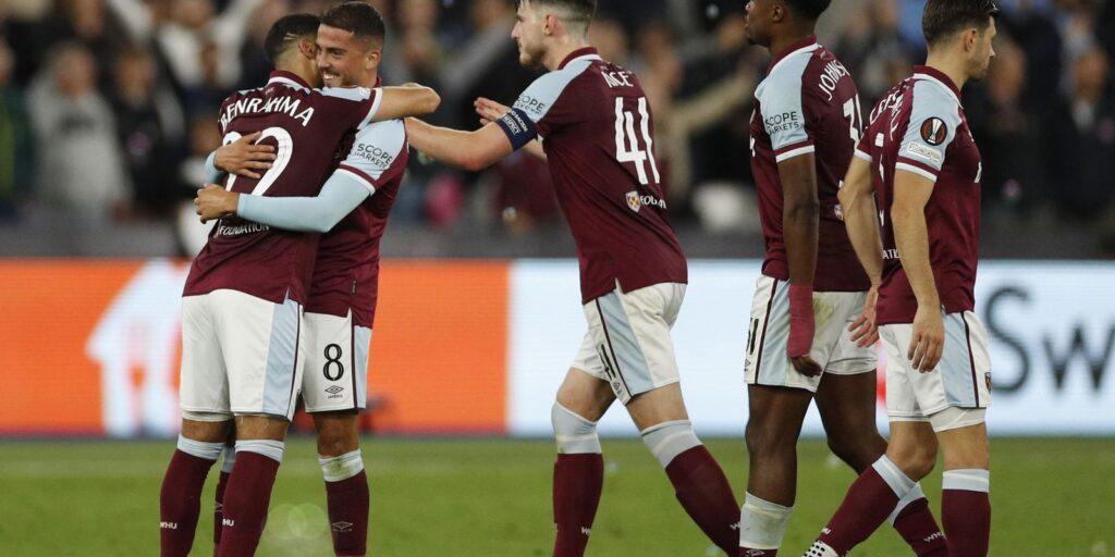 West Ham supera o Rapid Vienna por 2 a 0
