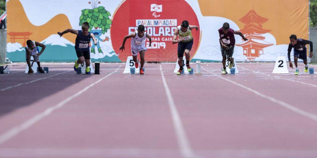 Paralimpíada Escolar abre caminho para o alto rendimento