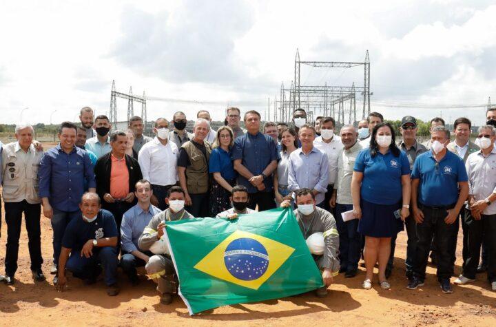 Bolsonaro anuncia início das obras do linhão Manaus-Boa Vista