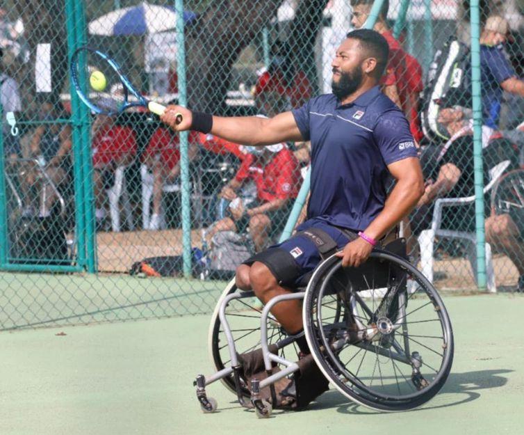 Daniel - Mundial de tênis em cadeira de rodas - Sardenha