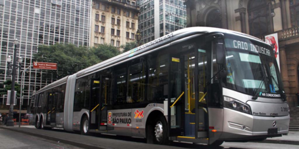 São Paulo reduz percentual de ônibus muito poluentes na frota