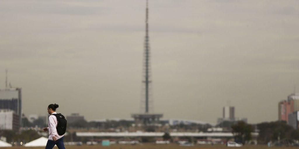 Distrito Federal entra em alerta vermelho por causa da baixa umidade