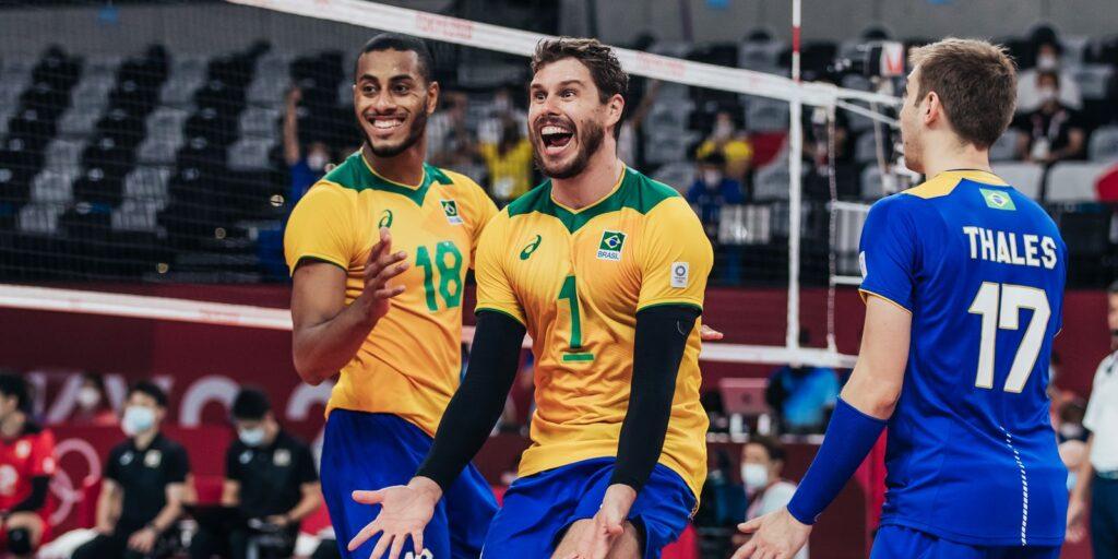 Grupo do Brasil no Mundial de vôlei masculino é definido